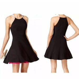 Betsy & Adam Pink Tulle Rhinestone Dress sz 8